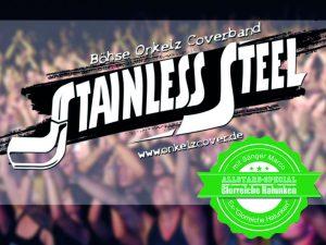 Stainless Steel 120x90mm neu