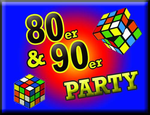 80er 90er party. Black Bedroom Furniture Sets. Home Design Ideas